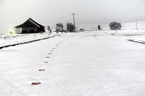 Neve atinge pelo menos 25 municípios gaúchos Daniela Xu/Agencia RBS