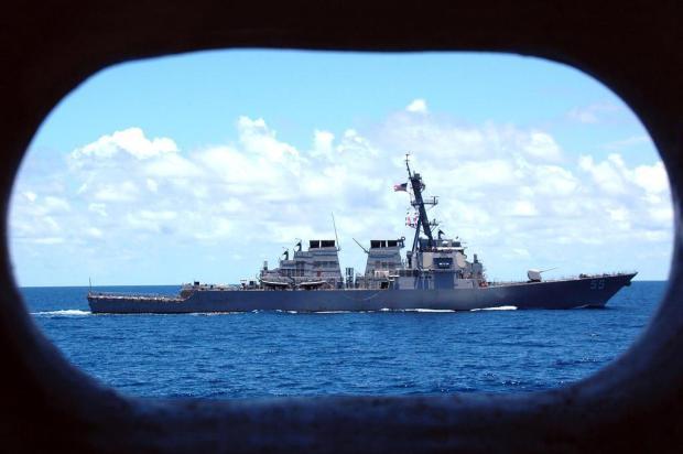 EUA enviam quinto destróier ao Mediterrâneo pela crise síria AFP PHOTO/Navy Visual News Services