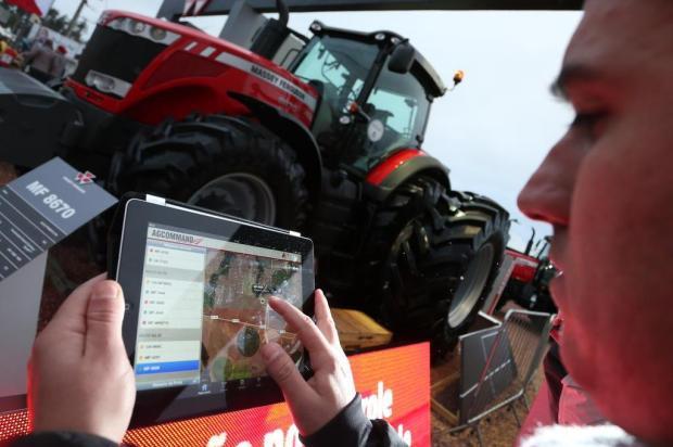 Novidades expostas no parque mostram como melhorar os resultados do agronegócio Bruno Alencastro/Agencia RBS