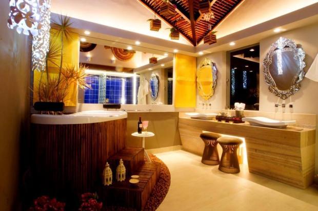 Velhos ambientes ganham novíssimas roupagens e funcionalidades: banheiro Célio Diniz/Divulgação