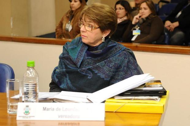 Morre a vereadora peemedebista Maria de Lourdes Castro, em Santa Maria Fernanda Ramos/Especial