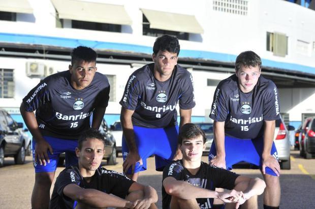 Destaque da base do Grêmio, Zagueiro Rafael Thyere é promovido ao profissional Lauro Alves/Agencia RBS