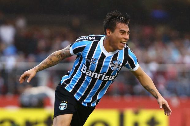 Dida fecha o gol e Vargas garante a vitória do Grêmio sobre o São Paulo no Morumbi ROBERTO VAZQUEZ/FUTURA PRESS/ESTADÃO CONTEÚDO
