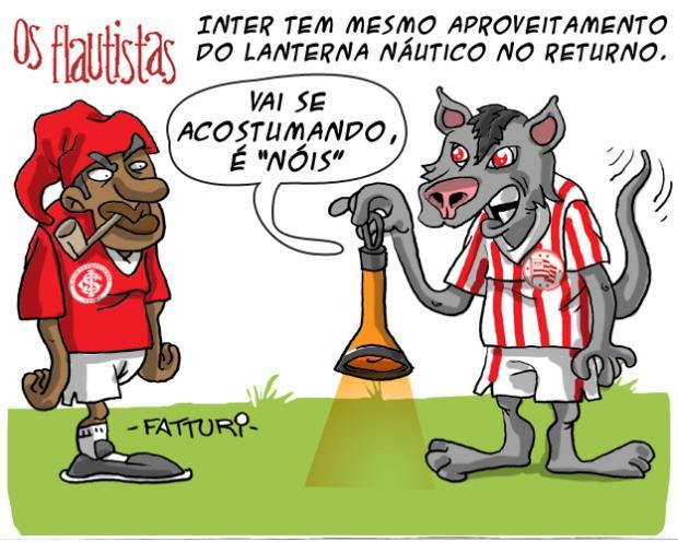 Os Flautistas: Inter se equipara ao Náutico no returno Charge de Diogo Fatturi/