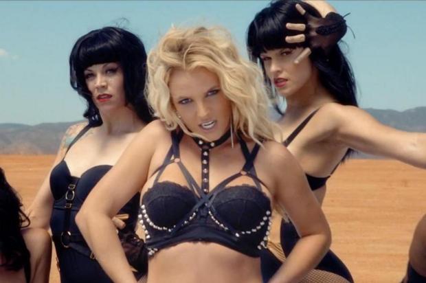 Britney Spears revela que cortou metade do conteúdo picante de seu novo clipe YouTube/Reprodução