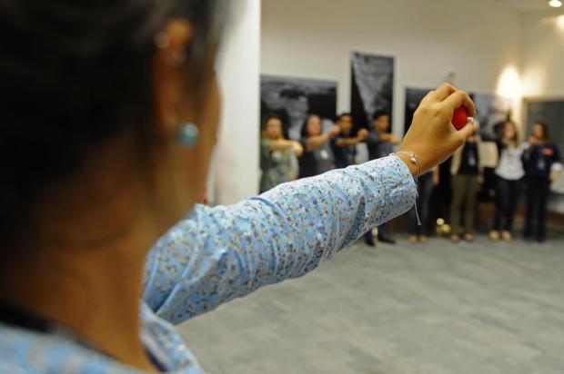Ginástica laboral beneficia trabalhadores e empresas Daniel Conzi/Agencia RBS