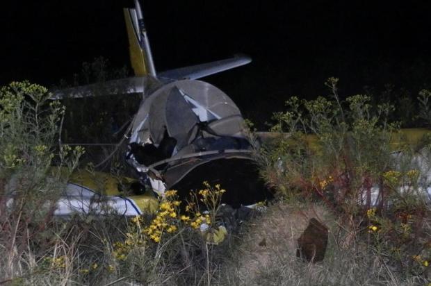Piloto morre após queda de avião particular em Alegrete Cleomar Ceroline/Especial