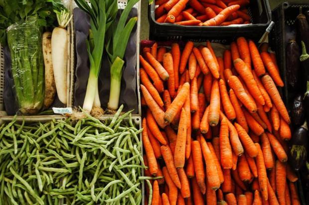 Desinfecção de legumes pode prevenir intoxicação alimentar em bebês Charles Guerra/Agencia RBS