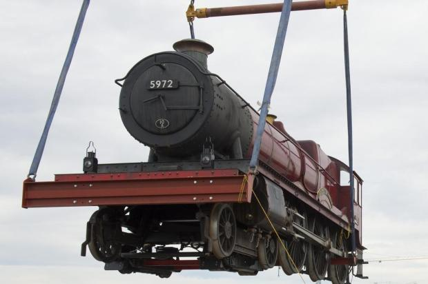 Hogwarts Express chega ao parque temático de Harry Potter, na Flórida Universal Orlando Resort/Divulgação