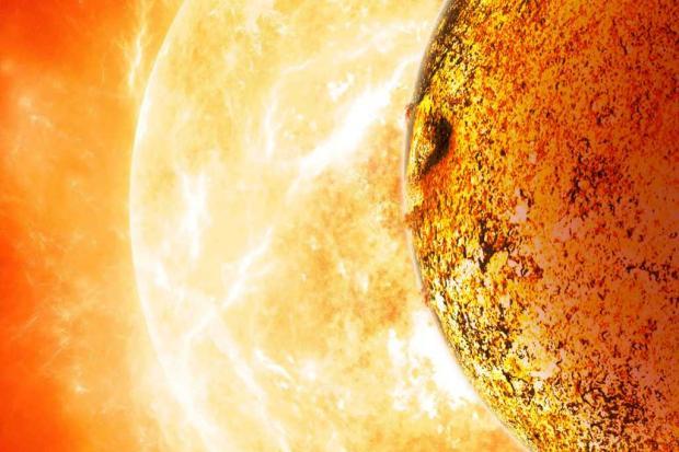 Planeta Kepler-78b é uma Terra infernal que fascina os astrônomos DAVID A. AGUILAR / NASA/AFP