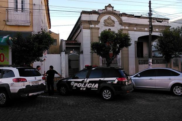 """""""As roupas dela tinham bastante pólvora"""", diz padrasto Ricardo Figueiro/Arquivo pessoal"""