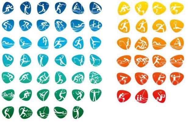 Conheça os ícones esportivos dos Jogos Olímpicos e Paraolímpicos Rio 2016 Divulgação/Rio2016