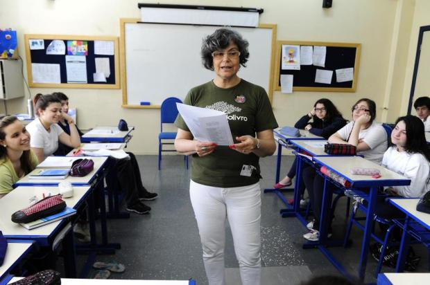 Professora de Porto Alegre renovou a forma de ensinar literatura no Ensino Médio Ronaldo Bernardi/Agencia RBS