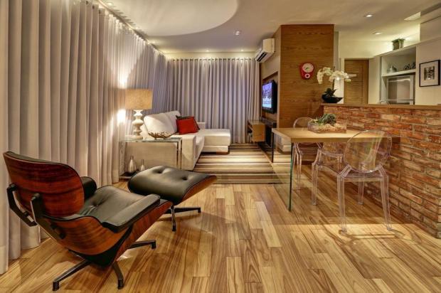 Apartamento compacto mostra que é possível viver em uma área enxuta sem aperto Omar Freitas/Agencia RBS