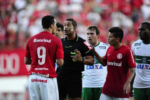 """Willians dispara contra Clemer: """"Temos três substituições e ele não coloca os jogadores pra jogar"""" Mauro Vieira/Agencia RBS"""