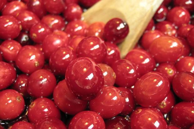 Cranberry ajuda a reduzir infecções urinárias e melhora a saúde cardíaca Keira Bishop/Stock photo