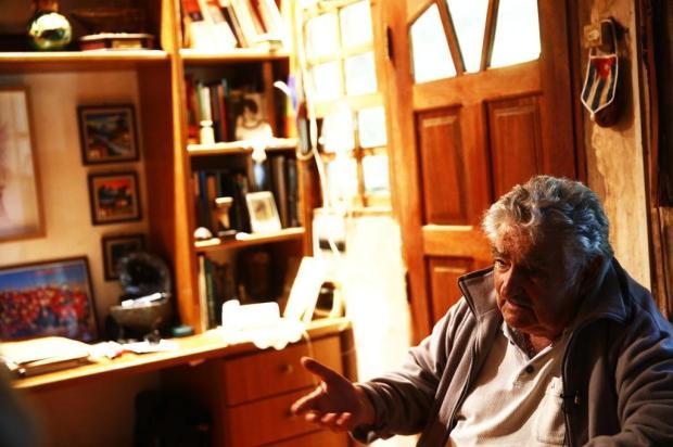 """José Mujica: """"Queremos combater o narcotráfico ao roubar-lhe o mercado"""" Félix Zucco/Agencia RBS"""