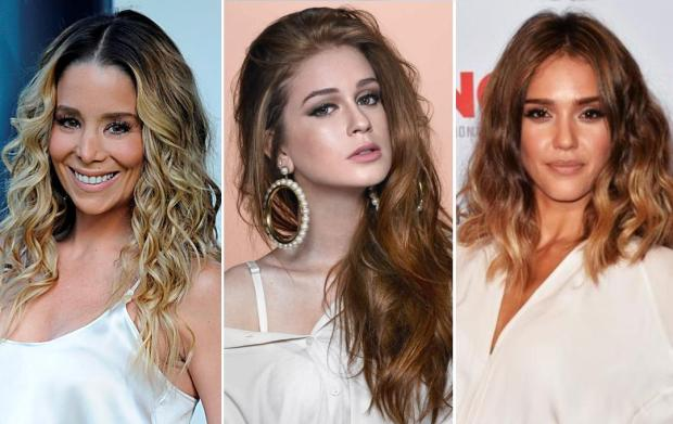 Veja três cores de cabelo que devem ser hit no verão Montagem sobre fotos de TV Globo, Divulgação; Gui Paganini e Divulgação/