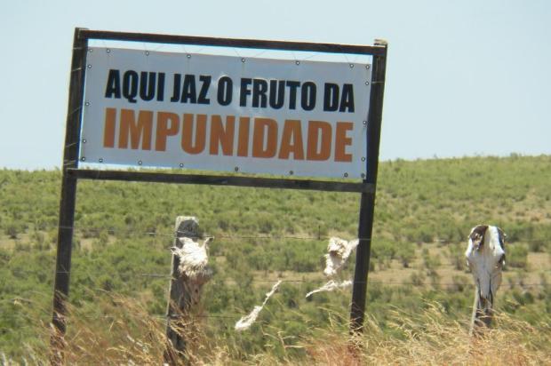 Protesto de fazendeiros lembra ataques constantes de ladrões de gado na Fronteira Oeste Mikaela Bandeira/Arquivo Pessoal