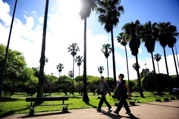 Viver em um espaço urbano mais verde torna as pessoas mais felizes Carlos Macedo/Agencia RBS