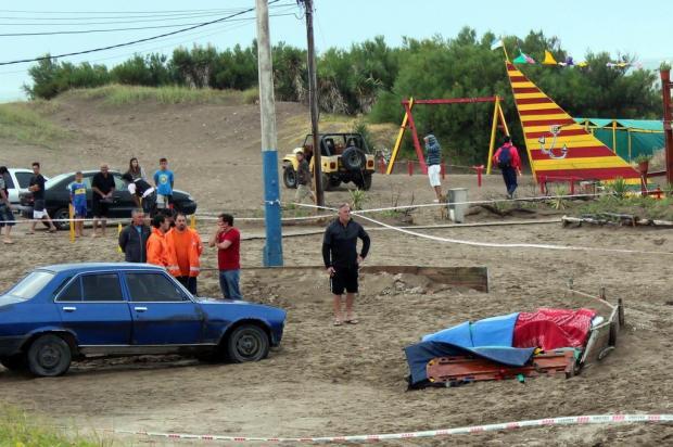 Raio mata quatro jovens e deixa 22 feridos em balneário argentino TELAM - Oscar Pinco/TELAM