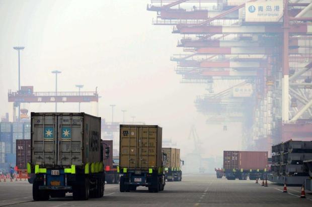 China diz ser a maior potência comercial do mundo AFP/AFP
