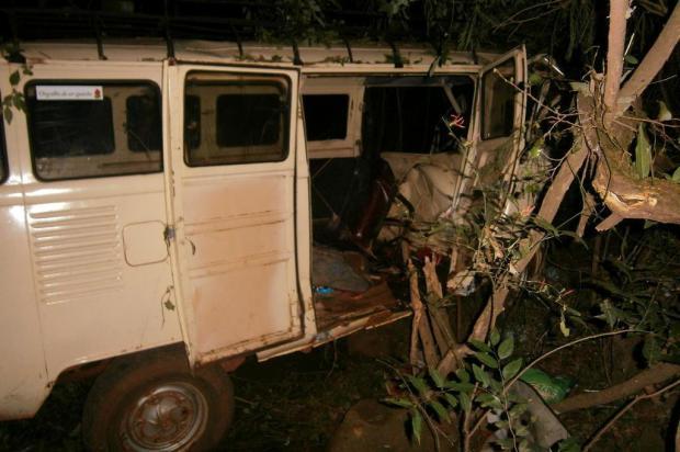 Nove pessoas feridas em acidente no interior de Cerro Largo permanecem internadas Brigada Militar/Divulgação