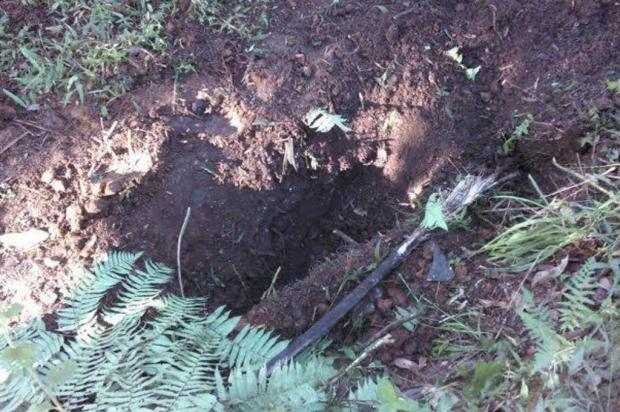 Motorista é assaltado e enterrado vivo em São Bento do Sul, no Planalto Norte Bombeiros de São Bento do Sul/Divulgação