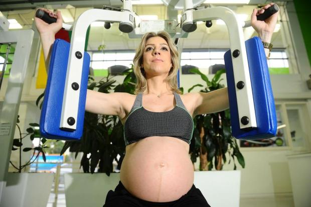 Futuras mamães não precisam parar atividade física Jonas Ramos/Especial