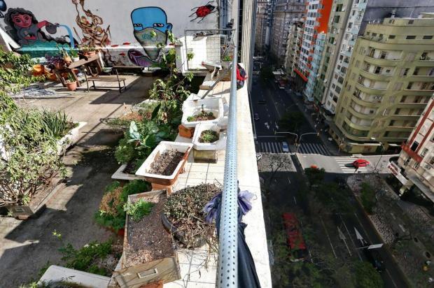 Como o manuseio com a terra pode melhorar a qualidade de vida nas cidades Bruno Alencastro/Agencia RBS
