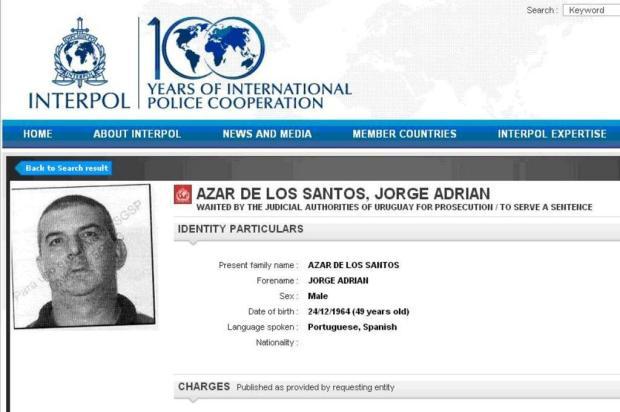 Nova regra facilita a prisão de foragidos estrangeiros reprodução/Interpol