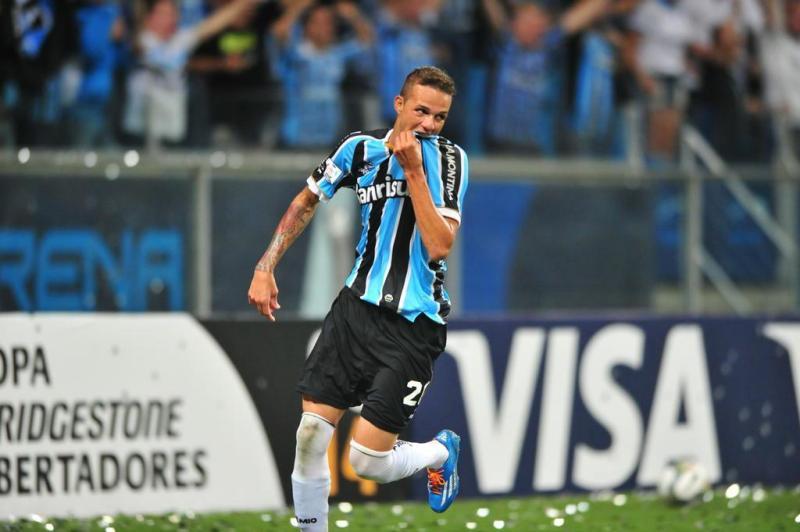 Gol do Grêmio! Gol de Luan! O tricolor faz 1 a 0 no Atlético Nacional.:imagem 16