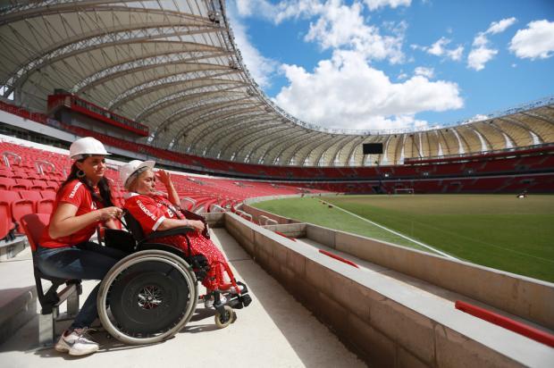Falha no projeto do novo Beira-Rio faz Inter rever espaço para cadeirantes Diego Vara/