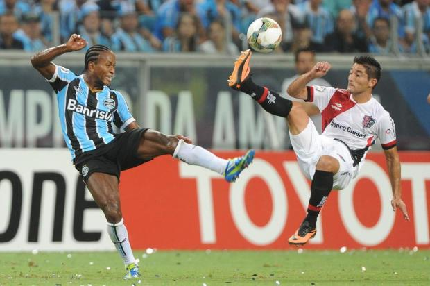 Melhor campanha até agora, Grêmio enfrentaria o Nacional-PAR nas oitavas Diego Vara/Agencia RBS