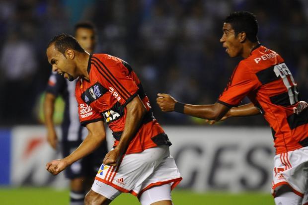 Flamengo vence o Emelec e encaminha a classificação na Libertadores RODRIGO BUENDIA / AFP/