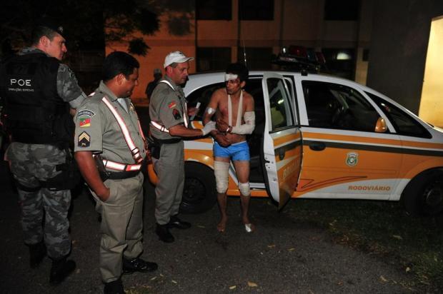 Suspeito de matar bebê em Cruz Alta vai para prisão sem explicar o motivo do crime Jean Pimentel/Agencia RBS