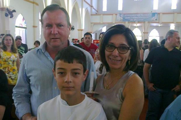 Casal apontado por Bernardo para adoção diz que menino estava feliz com promessa do pai de mais afeto Divulgação/Arquivo Pessoal