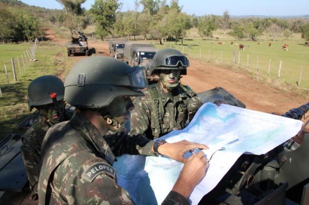 Batalha fictícia entre argentinos e brasileiros chega ao ápice Rodrigo Allram,Exército Brasileiro/Divulgação