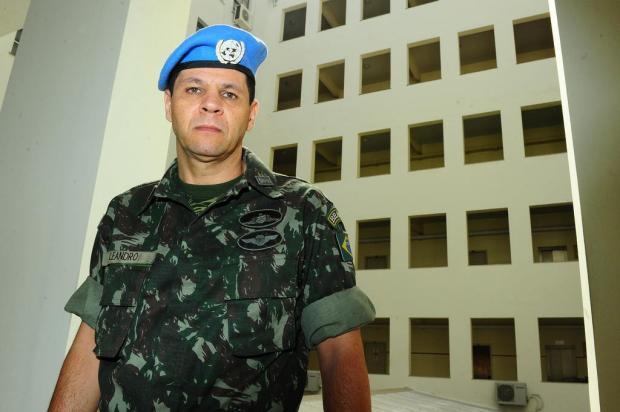 Natural de Porto Alegre, major do Exército vivenciou conflito na Síria por três meses  Jean Schwarz/Agência RBS